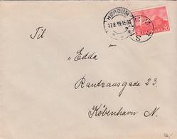 Denmark.  Letter With Starcancellation SKYUM - 1913-47 (Christian X)