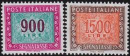 Italy .  Yvert    .    Taxe  88/89      .   *   .   Mint-hinged  .   /    .   Neuf Avec Charniere * - 1900-44 Vittorio Emanuele III