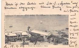 Angola - Topo / 30 - Porto De Loanda E Ilhoa - Belle Oblitération - Angola