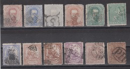 SPAIN - Mix Of Early Stamps 2 Scans - 1875-1882 Königreich: Alphonse XII.