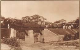 Angola - Topo / 38 - Ponte Sobre O Rio Calonguela - Tren - Train - Railway - Angola
