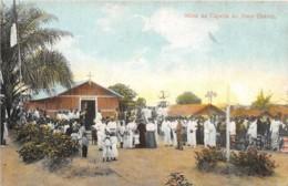 Angola - Topo / 43 - Missa Na Capella Do Povo Grande - Angola