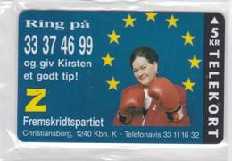 Denmark, P 088,  Z Fremskridtspartiet, Mint, Only 1200 Issued, 2 Scans. - Dänemark