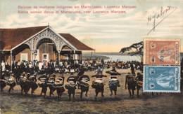 Angola - Topo / 44 - Batuque De Mulheres Indigenas Em Marracuene - Lourenço Marques - Angola