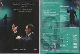 # Claudio Monteverdi - L'Orfeo (DVD + CD) - Concerto E Musica