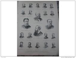 L'EXPOSITION DE PARIS 1889 LES COMITES DE L'EXPOSITION / DINER A L'EXPOSITION / PAVILLON DU NICARAGUA / BEAUX ARTS - Journaux - Quotidiens