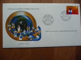 (S) ZWITSERLAND, HELVETIA, SWIZERLAND FDC  PROTECTION DES BIENS CULTURELS 25-08-1977 - Christmas Island
