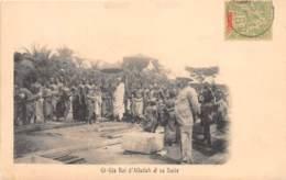 Benin - Dahomey - Ethnic / 55 - Gi Gia Roi D' Alladah Et Sa Suite - Belle Oblitération - Benin