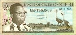 100 FRANCS 1962 - Congo