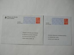 Prêt à Poster Réponse, Validité Permanente, Lamouche, 2 Enveloppes Neuves, TB. - Entiers Postaux