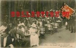 75009 ☺♦♦ PARIS < TERRASSE D'un GRAND CAFE Des BOULEVARDS - Cafés, Hôtels, Restaurants