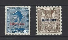 RAROTONGA.  YT  N°20 Et 21  Neuf * 1921 - Timbres