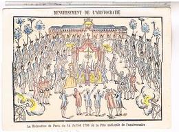 Renversement De L ARISTOCRATIE  1790 - Manifestazioni