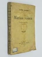 Marius Vaincu / Alfred Mortier. - Paris : Mercure De France, 1910 - Théâtre