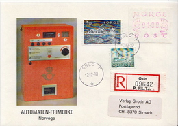Postal History: 2 Norway Covers For Limax - ATM/Frama Labels