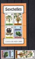 SEYCHELLES  Timbres Neufs ** De 1980   ( Ref 2683 Arbre - Fruit - Seychelles (1976-...)