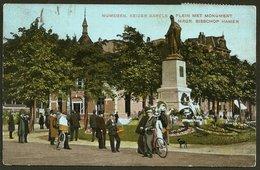 Nederland / Netherlands: Nijmegen (Nimeguen), Keizer Karels Plein Met Monument MRGR. Bisschop Hamer 1907 - Nijmegen