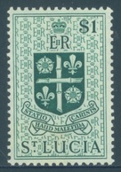 ST LUCIA - MLH/*. - 1954 - Yv 166 -  Lot 18414 - Ste Lucie (...-1978)