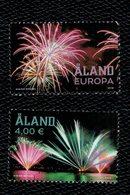 Aland 2018 Fireworks - Fuochi Di Artificio 2v Complete Set  ** MNH - Aland