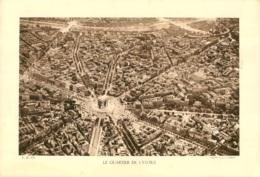 GRAVURE PARIS LE QUARTIER DE L'ETOILE CLICHE MOREAU   FORMAT  29 X 20 CM - Estampes & Gravures