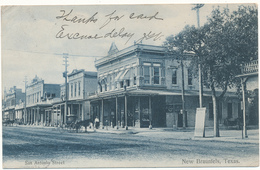 TX - NEW BRAUNFELS - San Antonio Street - Sonstige