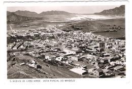 Cap Verde - S. Vincente De Cabo Verde - Vista Parcial Do Mindelo - Old View - Posted With Stamp - Cap Verde