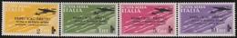 Italy .  Yvert    .   Airmail   52/55   .   **      .     MNH   .   /    .   Neuf SANS  Charniere *8 - 1900-44 Victor Emmanuel III