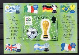 JERSEY    Timbre Neuf **   ( Ref 2685 ) Sport - Football - Jersey