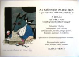 Illustration Toni Ungerer Pub Au Grenier De Rathus Strasbourtg Patrick Hamm - Contemporain (à Partir De 1950)