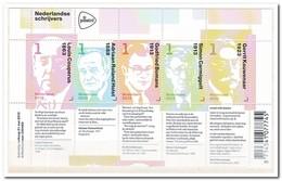 Nederland 2013, Postfris MNH, NVPH 3059-3063, Dutch Writers - Periode 2013-... (Willem-Alexander)