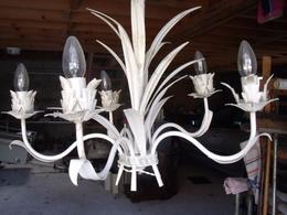 UNE SUSPENSION  VINTAGE A 5 BRANCHES - Luminaires