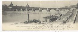 Lyon   Pont De La Guillotiére  Laveuses  DOUBLE CARTE - Lyon