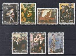 KAMPUCHEA    Timbres Neufs ** De 1985  ( Ref 2686 )   Art - Musique - Kampuchea