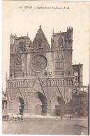 POSTAL   LYON  -FRANCIA  - CATHEDRALE ST. JEAN - Lyon