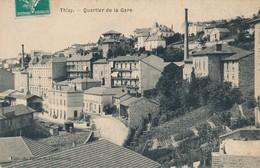 CPA - France - (69) Rhône - Thizy - Quartier De La Gare - Thizy