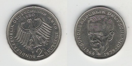 BRD  2 DM 1980 F Schumacher Bfr - [ 7] 1949-… : FRG - Fed. Rep. Germany