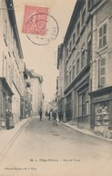 CPA - France - (69) Rhône - Thizy - Rue De Vaise - Thizy