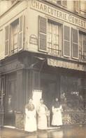 Superbe état Pour Cette Carte-photo De 1910 Animée Charcuterie,Comestibles Avenue Du Maine à Paris. PROPRIETAIRE: J.MOMY - Photographie