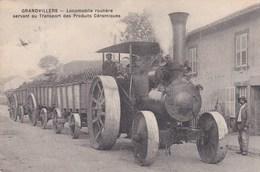 88 Grandvillers Locomotive Routière La Mignonne - France