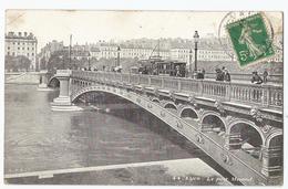CPA  [69] Rhône > Lyon - Tramway Pont Morand ( Coin Haut Gauche Cassé ) - Lyon