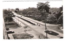 Belgisch Congo - Congo Belge - Leopoldville - Leopoldstad - Boulevard Albert - Old View - Posted With Stamp - Kinshasa - Leopoldville (Leopoldstadt)