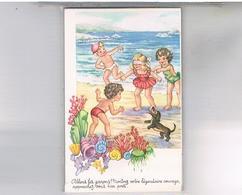 HUMOUR ENFANTS CHIEN PHOTOCHROM  N°469 - Humorkaarten