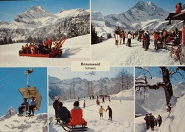 BRAUNWALD Funi Ski Sesselbahn - GL Glaris
