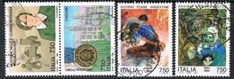 ITALIA / ITALY - EVENTI SEC. GUERRA MOND. / EVENTS SEC. WORLD WAR - LOTTO DI FRANCOBOLLI / LOT OF STAMPS - USATO / USED - Seconda Guerra Mondiale