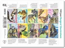 Nederland 2013, Postfris MNH, NVPH 3028-3037, 100 Years Burgers Zoo, Arnhem, Animals - Periode 2013-... (Willem-Alexander)