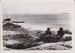 WACHT AM SCHWARZEN MEER  FOTO DE PRESSE WW2 WWII WORLD WAR 2 WELTKRIEG Aleman Deutchland - Guerra, Militares