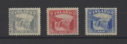 ISLANDE.  YT  N°139-140-141  Neuf **  1931-32 - Neufs