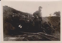 GEGENSTOSS IM MORGENGRAU   FOTO DE PRESSE WW2 WWII WORLD WAR 2 WELTKRIEG Aleman Deutchland - Guerra, Militares