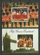 Equatorial Guinea 1978 Michel Bl 295 - 296 MNH - Äquatorial-Guinea