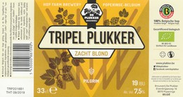 Tripel Plukker Brouwerij De Plukker - Bière
